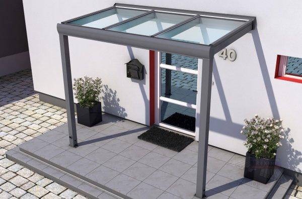 Terravita Vsg Haustur Vordach 3 00 X 1 50m Vsg Glas Terrasse De